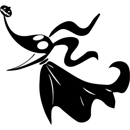Nightmare Before Christmas Dog Vinyl Decal <div> High glossy, premium 3 mill vinyl, with a life span of 5 – 7 years! </div>