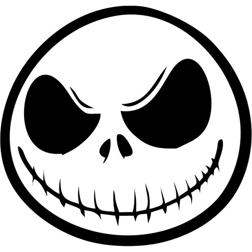 Nightmare Before Christmas Vinyl Decal <div> High glossy, premium 3 mill vinyl, with a life span of 5 – 7 years! </div>