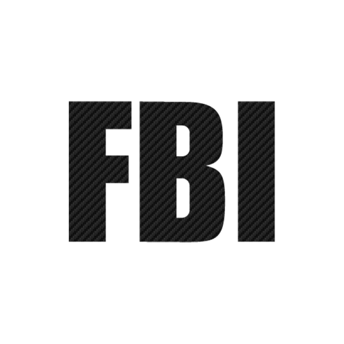 17241 fbi logo carbone Vinyl Decal <div> High glossy, premium 3 mill vinyl, with a life span of 5 – 7 years! </div>