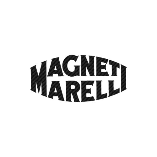 17372 magneti marelli logo ancien carbone Vinyl Decal <div> High glossy, premium 3 mill vinyl, with a life span of 5 – 7 years! </div>