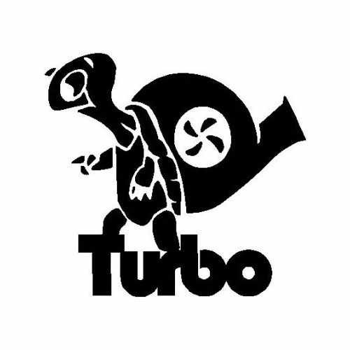 S Turbo Turtle  Vinyl Decal Sticker  Size option will determine the size from the longest side Industry standard high performance calendared vinyl film Cut from Oracle 651 2.5 mil Outdoor durability is 7 years Glossy surface finish