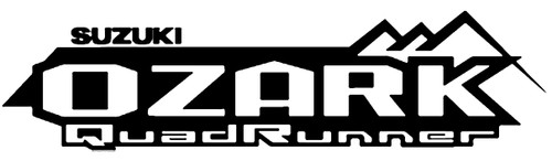 Suzuki Ozark Quad Runner