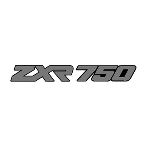 27923 Kawasaki ZXR 750 2 couleurs perso Vinyl Decal <div> High glossy, premium 3 mill vinyl, with a life span of 5 – 7 years! </div>
