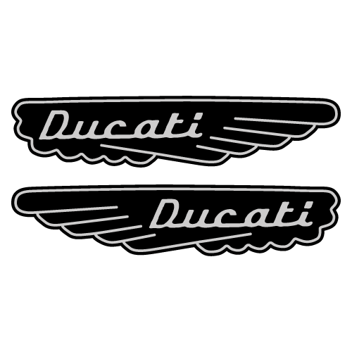 80023 kit reservoir moto ducati Vinyl Decal <div> High glossy, premium 3 mill vinyl, with a life span of 5 – 7 years! </div>
