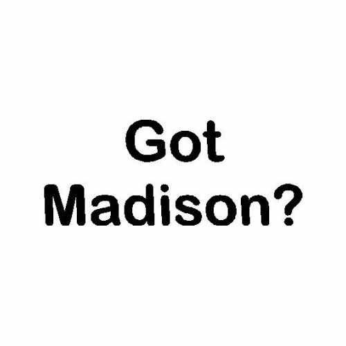 Capital Got Madison Wi  Vinyl Decal Sticker  Size option will determine the size from the longest side Industry standard high performance calendared vinyl film Cut from Oracle 651 2.5 mil Outdoor durability is 7 years Glossy surface finish