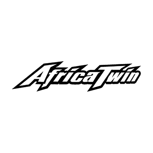 Africa Twin Logo1A Vinyl Decal <div> High glossy, premium 3 mill vinyl, with a life span of 5 – 7 years! </div>