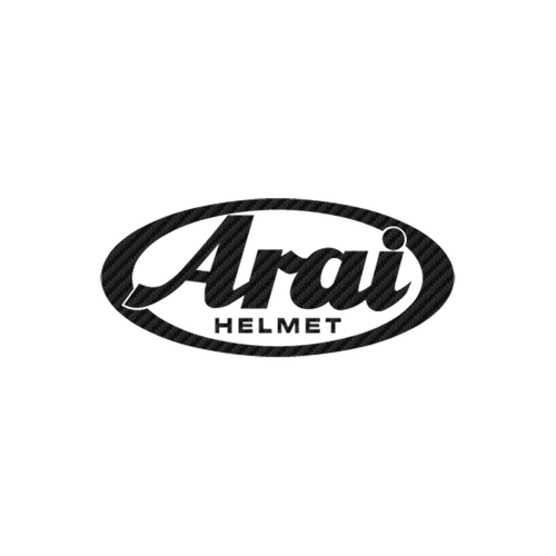 Arai Helmet carbone Vinyl Decal <div> High glossy, premium 3 mill vinyl, with a life span of 5 – 7 years! </div>