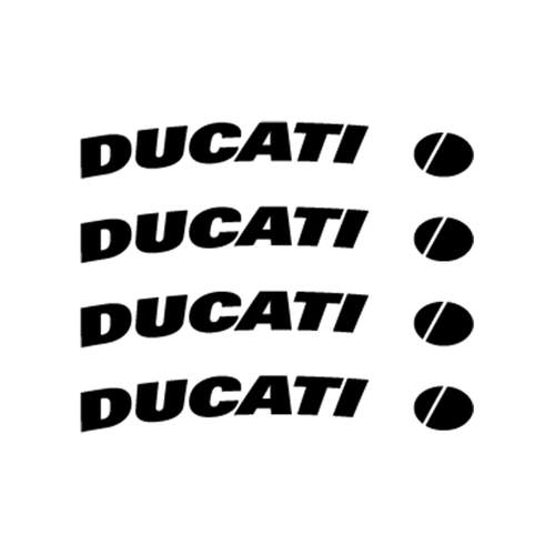 Ducati Jante Vinyl Decal <div> High glossy, premium 3 mill vinyl, with a life span of 5 – 7 years! </div>