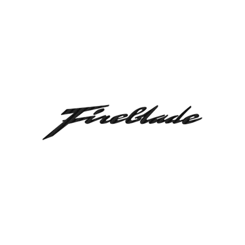 Fireblade 3 carbone Vinyl Decal <div> High glossy, premium 3 mill vinyl, with a life span of 5 – 7 years! </div>