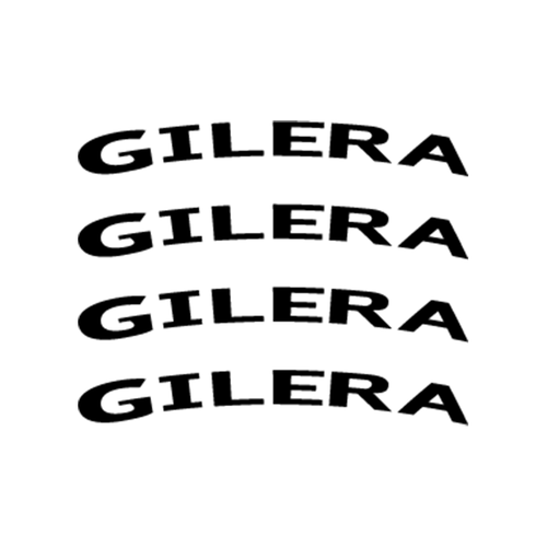 Gilera Jante Vinyl Decal <div> High glossy, premium 3 mill vinyl, with a life span of 5 – 7 years! </div>