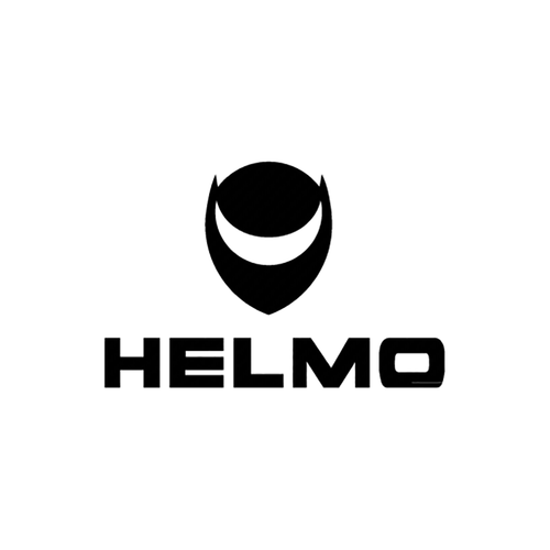 helmo logo carbone Vinyl Decal <div> High glossy, premium 3 mill vinyl, with a life span of 5 – 7 years! </div>