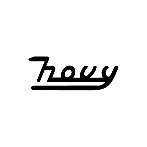 hovy logo carbone Vinyl Decal <div> High glossy, premium 3 mill vinyl, with a life span of 5 – 7 years! </div>