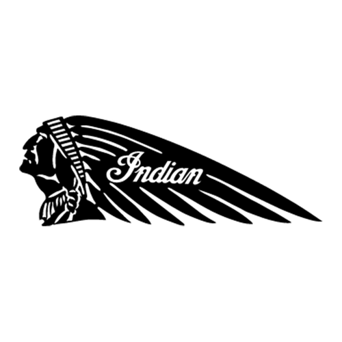 Indian 3 Vinyl Decal <div> High glossy, premium 3 mill vinyl, with a life span of 5 – 7 years! </div>