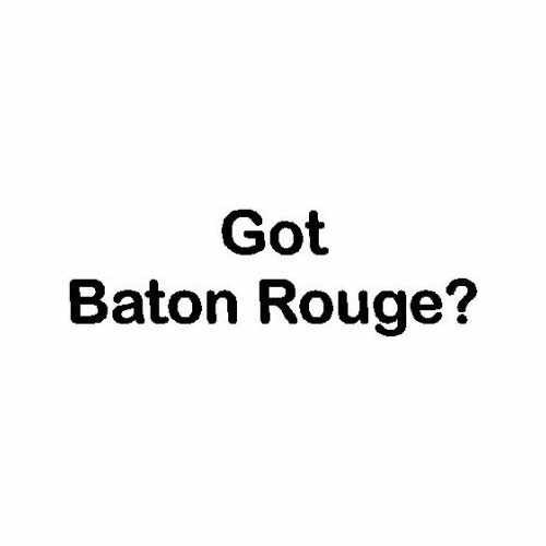 Capital Got Baton Rouge La  Vinyl Decal Sticker  Size option will determine the size from the longest side Industry standard high performance calendared vinyl film Cut from Oracle 651 2.5 mil Outdoor durability is 7 years Glossy surface finish