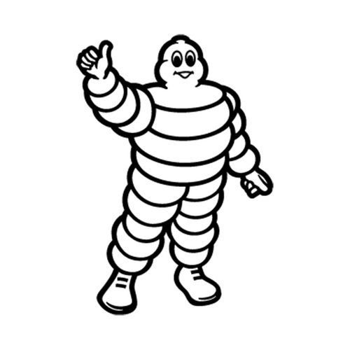 Michelin 3 Vinyl Decal <div> High glossy, premium 3 mill vinyl, with a life span of 5 – 7 years! </div>