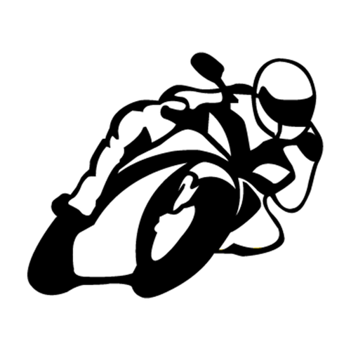 Moto Course Vinyl Decal <div> High glossy, premium 3 mill vinyl, with a life span of 5 – 7 years! </div>
