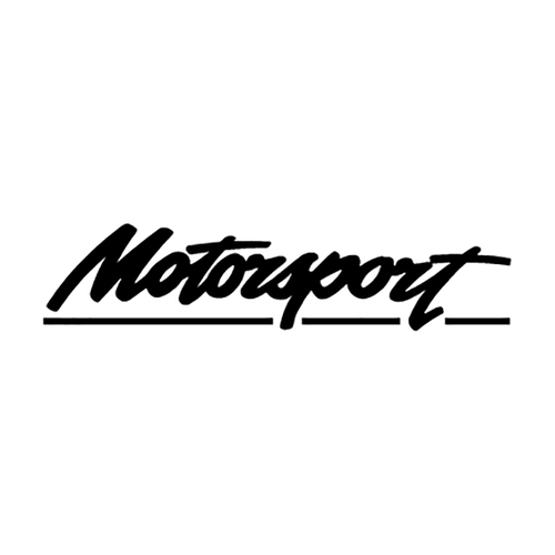 motorsport logo Vinyl Decal <div> High glossy, premium 3 mill vinyl, with a life span of 5 – 7 years! </div>
