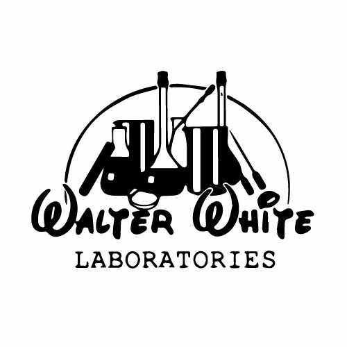 6e18c4156 Breaking Bad Walter White Labs Vinyl Decal Sticker
