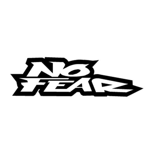 No Fear 4 Vinyl Decal <div> High glossy, premium 3 mill vinyl, with a life span of 5 – 7 years! </div>