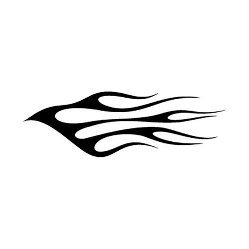 flamme 102 Vinyl Decal <div> High glossy, premium 3 mill vinyl, with a life span of 5 – 7 years! </div>