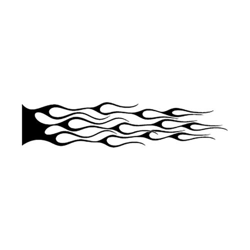 flamme 103 Vinyl Decal <div> High glossy, premium 3 mill vinyl, with a life span of 5 – 7 years! </div>