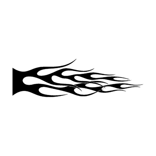 flamme 121 Vinyl Decal <div> High glossy, premium 3 mill vinyl, with a life span of 5 – 7 years! </div>