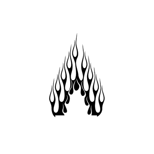 flamme 131 carbone Vinyl Decal <div> High glossy, premium 3 mill vinyl, with a life span of 5 – 7 years! </div>