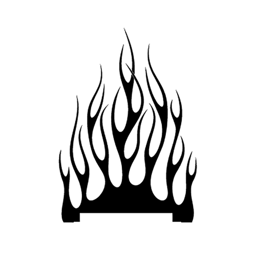 flamme 132 Vinyl Decal <div> High glossy, premium 3 mill vinyl, with a life span of 5 – 7 years! </div>
