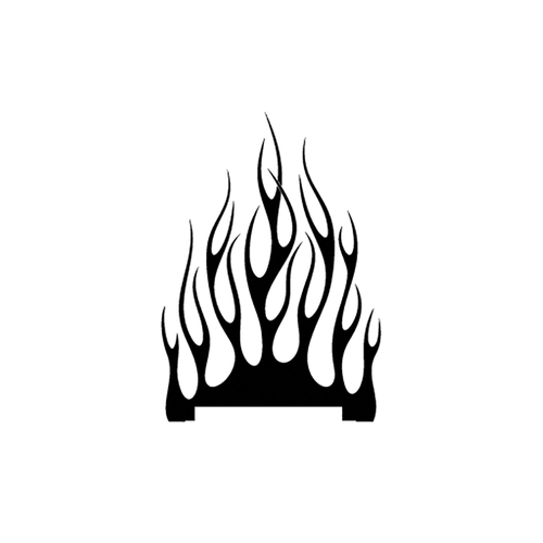 flamme 132 carbone Vinyl Decal <div> High glossy, premium 3 mill vinyl, with a life span of 5 – 7 years! </div>