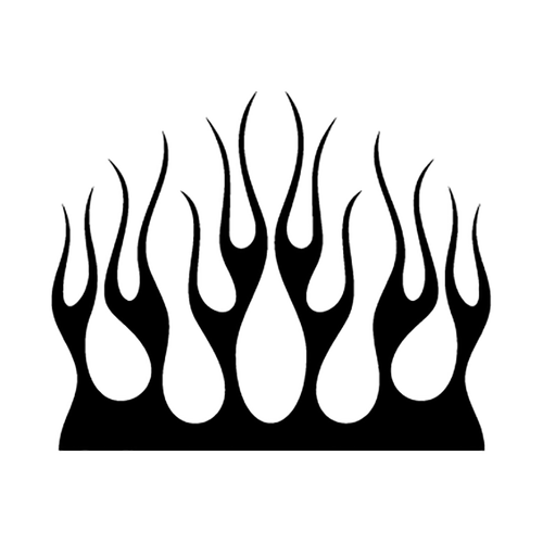 flamme 137 Vinyl Decal <div> High glossy, premium 3 mill vinyl, with a life span of 5 – 7 years! </div>