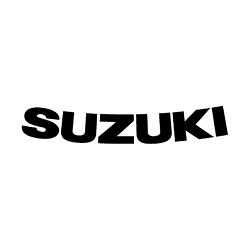 suzuki courbe Vinyl Decal <div> High glossy, premium 3 mill vinyl, with a life span of 5 – 7 years! </div>