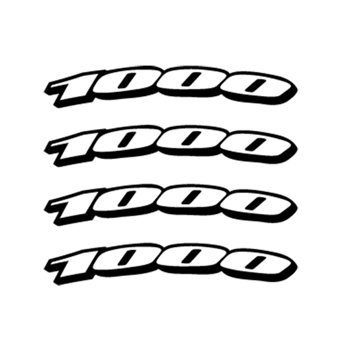 Suzuki 1000 Jante Vinyl Decal <div> High glossy, premium 3 mill vinyl, with a life span of 5 – 7 years! </div>