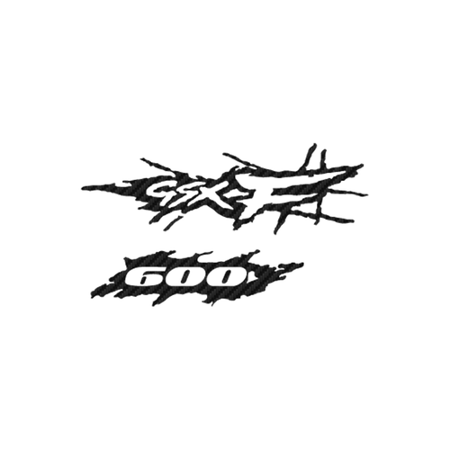 Suzuki GSX F600 2 carbone Vinyl Decal <div> High glossy, premium 3 mill vinyl, with a life span of 5 – 7 years! </div>
