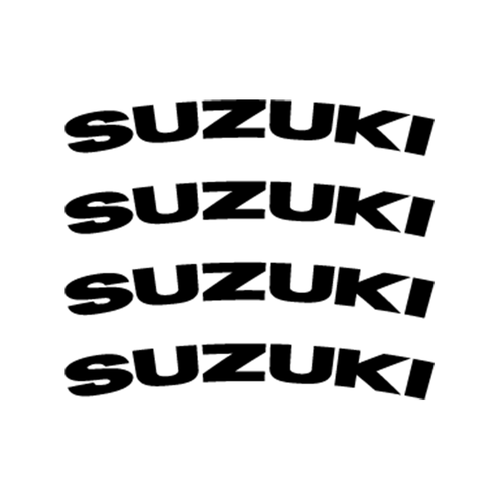 Suzuki Jante Vinyl Decal <div> High glossy, premium 3 mill vinyl, with a life span of 5 – 7 years! </div>