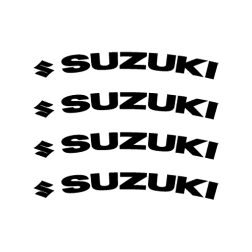 Suzuki Logo Jante Vinyl Decal <div> High glossy, premium 3 mill vinyl, with a life span of 5 – 7 years! </div>