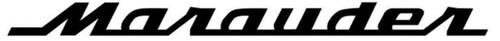 Suzuki Marauder Vinyl Decal