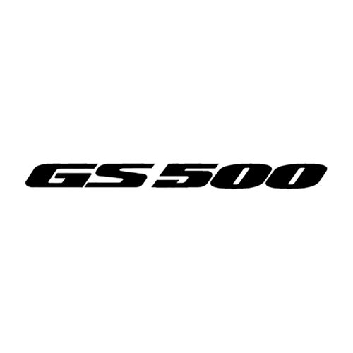 suzuki GS500 Vinyl Decal <div> High glossy, premium 3 mill vinyl, with a life span of 5 – 7 years! </div>