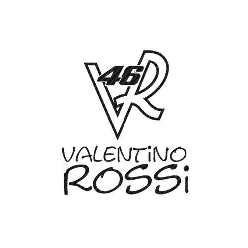 Valentino Rossi 46 B carbone Vinyl Decal <div> High glossy, premium 3 mill vinyl, with a life span of 5 – 7 years! </div>