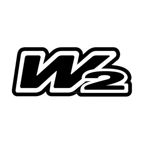w2 boots logo Vinyl Decal <div> High glossy, premium 3 mill vinyl, with a life span of 5 – 7 years! </div>