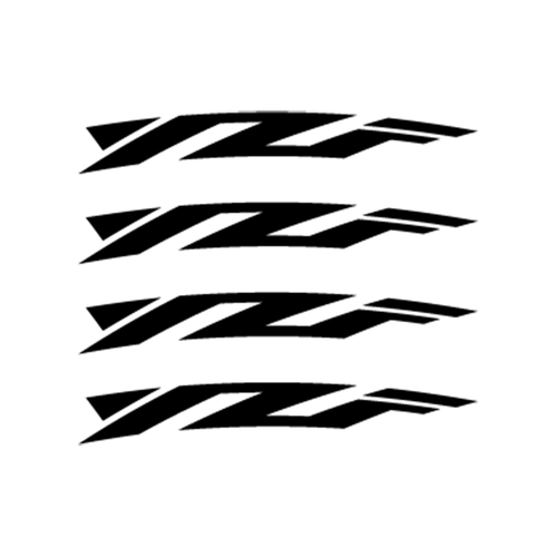 Yamaha YZF Jante Vinyl Decal <div> High glossy, premium 3 mill vinyl, with a life span of 5 – 7 years! </div>