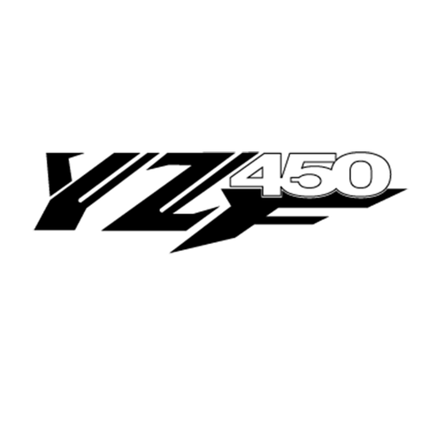 Yamaha YZF 450 Vinyl Decal <div> High glossy, premium 3 mill vinyl, with a life span of 5 – 7 years! </div>