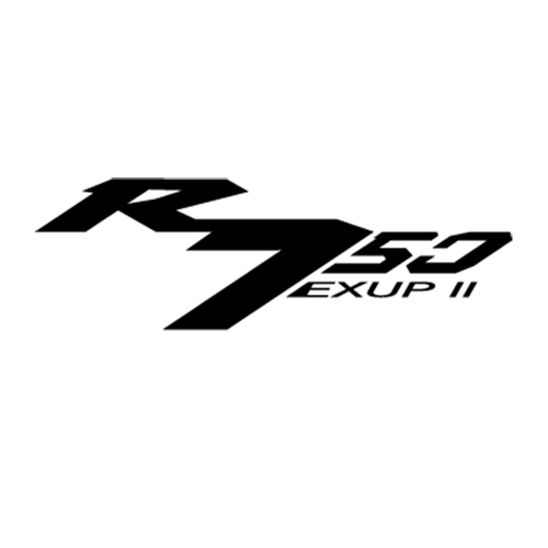 Yamaha YZF 750R Vinyl Decal <div> High glossy, premium 3 mill vinyl, with a life span of 5 – 7 years! </div>