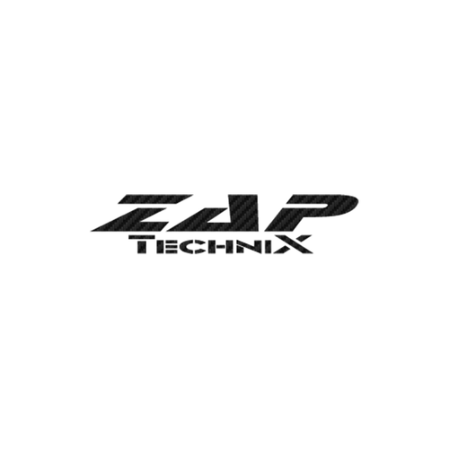 ZAP Technix carbone Vinyl Decal <div> High glossy, premium 3 mill vinyl, with a life span of 5 – 7 years! </div>