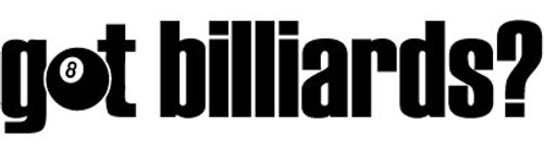 Got Billiards? Vinyl Decal High glossy, premium 3 mill vinyl, with a life span of 5 - 7 years!