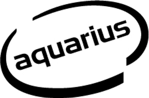 Aquarius Oval Vinyl Decal High glossy, premium 3 mill vinyl, with a life span of 5 - 7 years!