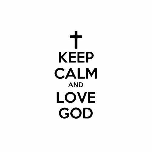 Keep Calm And Love God Vinyl Decal Sticker Size option will determine the size from the longest side Industry standard high performance calendared vinyl film Cut from Oracle 651 2.5 mil Outdoor durability is 7 years Glossy surface finish