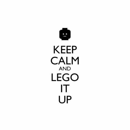 Keep Calm And Lego It Up Vinyl Decal Sticker Size option will determine the size from the longest side Industry standard high performance calendared vinyl film Cut from Oracle 651 2.5 mil Outdoor durability is 7 years Glossy surface finish