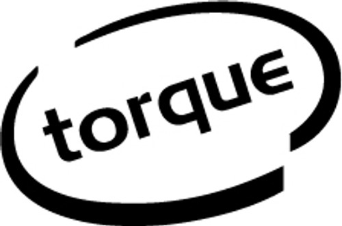 Torque Oval Vinyl Decal High glossy, premium 3 mill vinyl, with a life span of 5 - 7 years!
