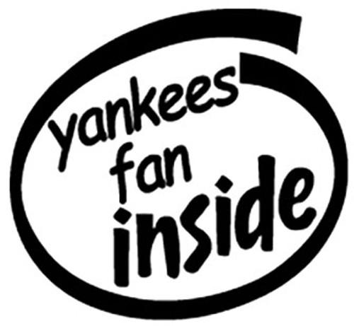 Yankees Fan Inside Oval