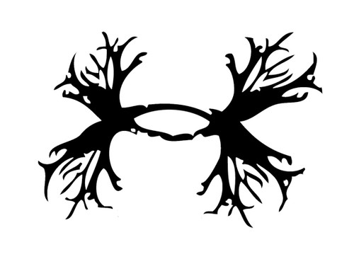 Antler Shed Fishing Hunting Vinyl Decal Sticker High glossy, premium 3 mill vinyl, with a life span of 5 - 7 years!